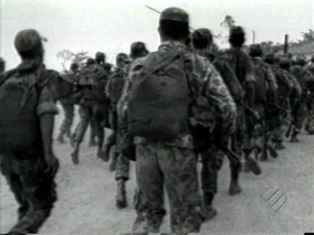 A Guerrilha do Araguaia foi um movimento existente ao longo do rio Araguaia, entre as décadas de 60 e 70 (Foto: Reprodução/TV Liberal)