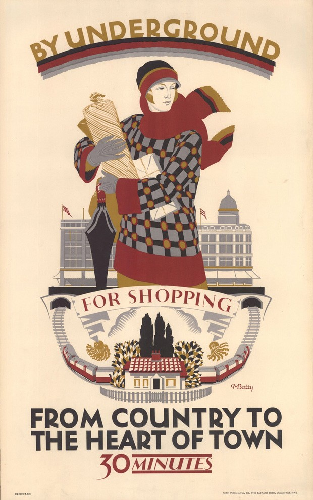 Centenário do direito ao voto às mulheres britânicas ganha exposição (Foto: London Transport Museum)