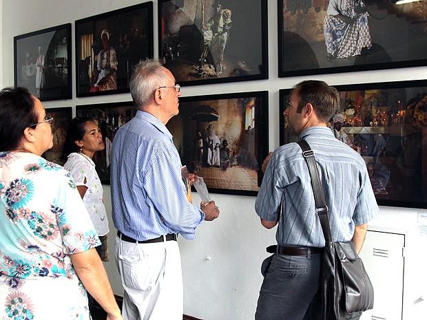 Turistas em visita ao Museu de Artes Visuais, em São Luís (MA) (Foto: Biné Morais / O Estado)