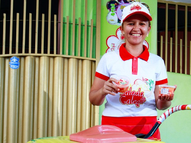 Cristiane Rodrigues é campeã na categoria Empreendedor Individual (Foto: Fred Veras/Sebrae)