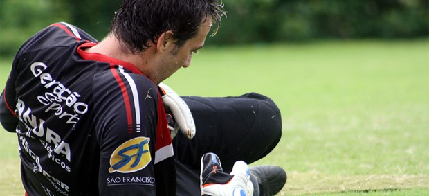 Márcio, goleiro do Botafogo-SP (Foto: Cleber Akamine / globoesporte.com)