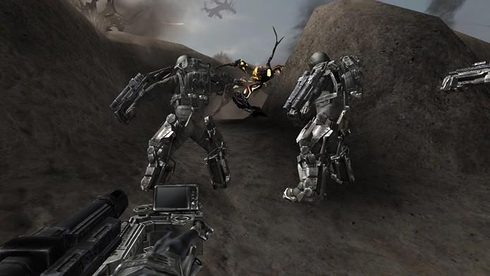 Gráficos de ponta e jogabilidade que lembra jogos como Gear of War (Foto: Divulgação)