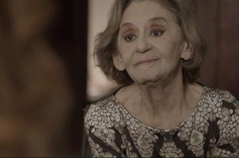 Laura Cardoso, a Caetana de 'O outro lado do paraíso' (Foto: TV Globo)