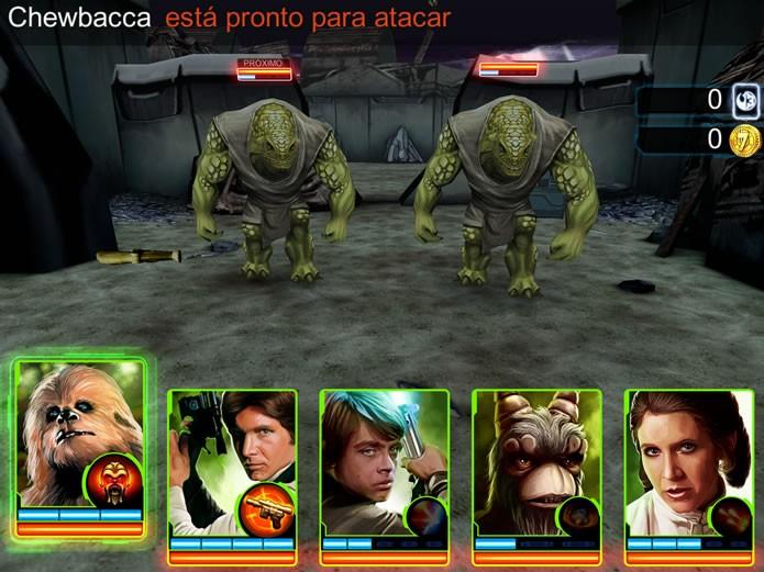 As batalhas do game são embaladas por músicas e variados efeitos sonoros que animam suas batalhas (Foto: Reprodução/Daniel Ribeiro)