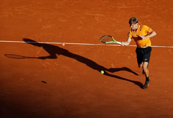 têsni David Goffin Monte Carlo (Foto: Reuters)