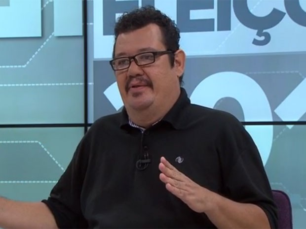 Pantaleão, candidato do PCO ao governo de Pernambuco. (Foto: Reprodução / G1)