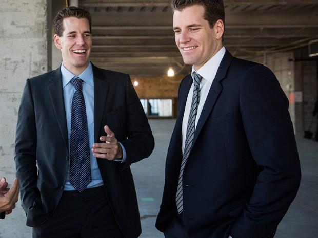 Os irmãos Cameron e Tyler Winklevoss. A fortuna que acumularam em bitcoins vai levá-los ao espaço (Foto: Getty Images)