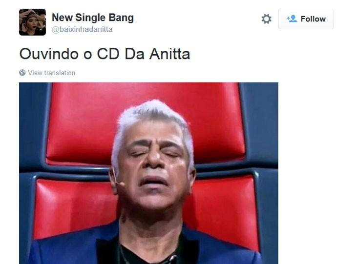 CD da Anitta vazou antes do lançamento e fãs repercutiram no Twitter