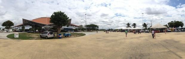 Parque recebe ação em Boa Vista (Foto: Tércio Neto/GloboEsporte.com)