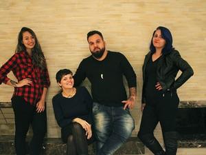 Quatro sócios são responsáveis pelo estúdio 'Cadê Amélia' (Foto: Cadê Amélia/Divulgação)
