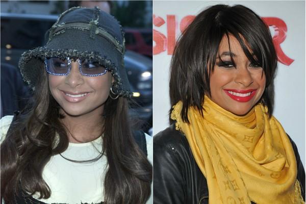 Desde 2003, quando era a estrela de 'As Visões da Raven', muita coisa mudou na vida de Raven-Symoné. Além das mudanças físicas, como mudar o estilo de cabelo a cada aparição pública, a atriz surpreendeu ao assumir ser homossexual (Foto: Getty Images)
