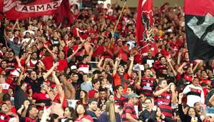 Torcida Flamengo Maracanã (Foto: Celso Pupo / Agência estado)