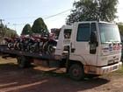 Oito motocicletas são apreendidas em operação em Porto Grande, no AP