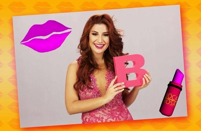 Bianca Andrade fala sobre carreira no 'Combinado' (Foto: TV Sergipe)
