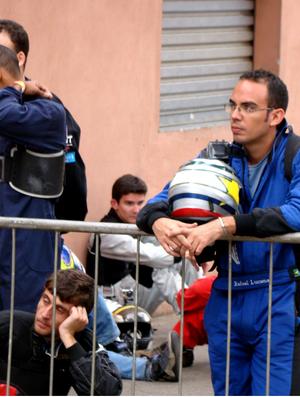 Rafael Lucena (canto direito), planeja se consolidar no esporte em 2014. (Foto: Arquivo Pessoal)