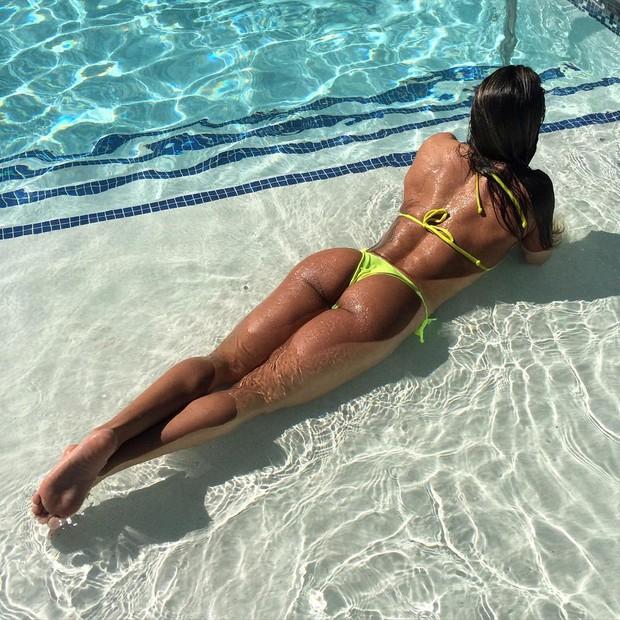 Michelly Crisfepe (Foto: Reprodução/ Instagram)