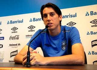 Grêmio Pedro Geromel (Foto: Eduardo Deconto/GloboEsporte.com)