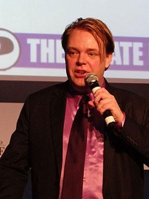 Rick Falkvinge (Foto: Luna Markman / G1)