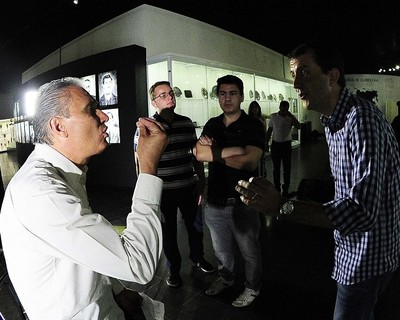 tite corinthians entrevista (Foto: Marcos Ribolli)