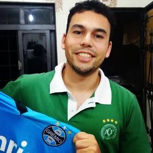Cartoleiro PRO Thiago Freitas Thiago Freitas (Foto: Arquivo Pessoal)