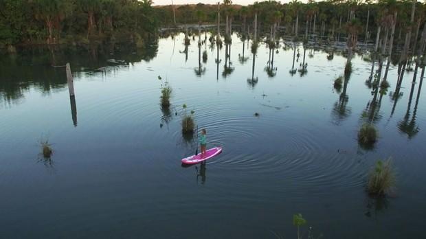60 dias no pantanal ep1 (Foto: divulgao)