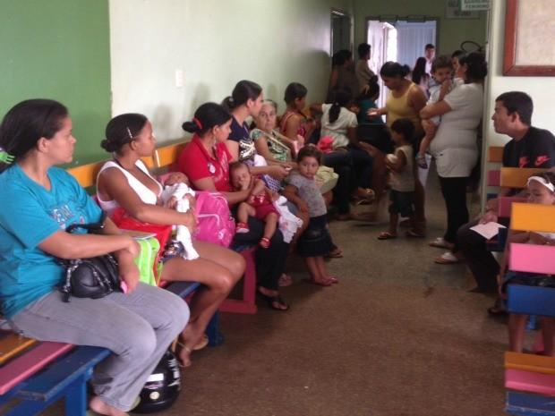 Hospital Municipal da Criança de Ariquemes atende cerca de 170 pacientes por dia (Foto: Eliete Marques/G1)