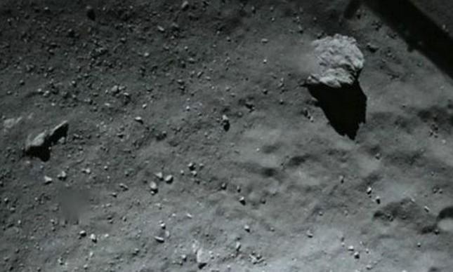 Imagem feita pelo robô Philae  (Foto: ESA)