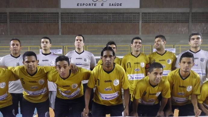 central de futsal  (Foto: Adjair Pacheco)