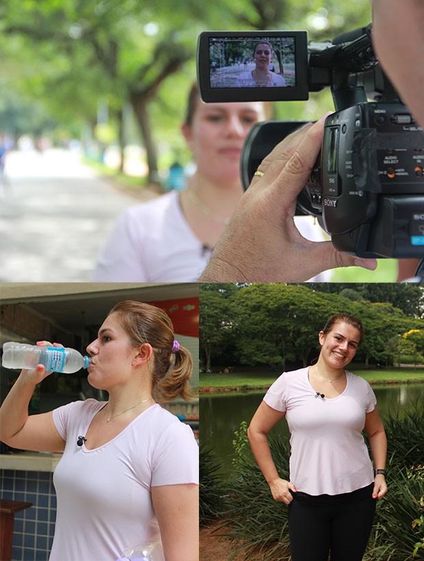 Cassia treinando (Foto: Patricia Palhares / EUATLETA.COM)