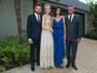 Modelos se reúnem no casamento da top Ana Claudia Michels