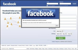 facebook phising protector