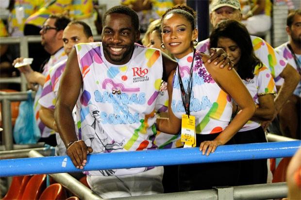 Lázaro Ramos e Taís Araújo (Foto: Brazil News)