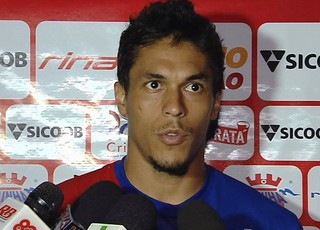 Reginaldo, zagueiro do Vila Nova (Foto: Reprodução/TV Anhanguera)