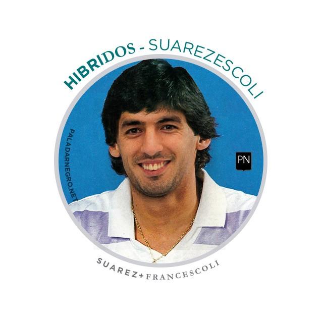 Suarezescoli, mistura de Luis Suárez com Francescoli