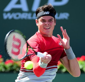 Milos Raonic Indian Wells tênis (Foto: Getty Images)