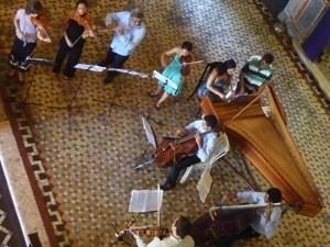 Grupo Ensemble Sonoro Ofício será um dos intérpretes (Foto: Drico Motta / Divulgação)