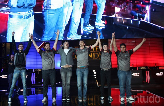 Pain Gaming é bicampeã brasileira de League of Legends (Foto: Felipe Vinha / TechTudo)