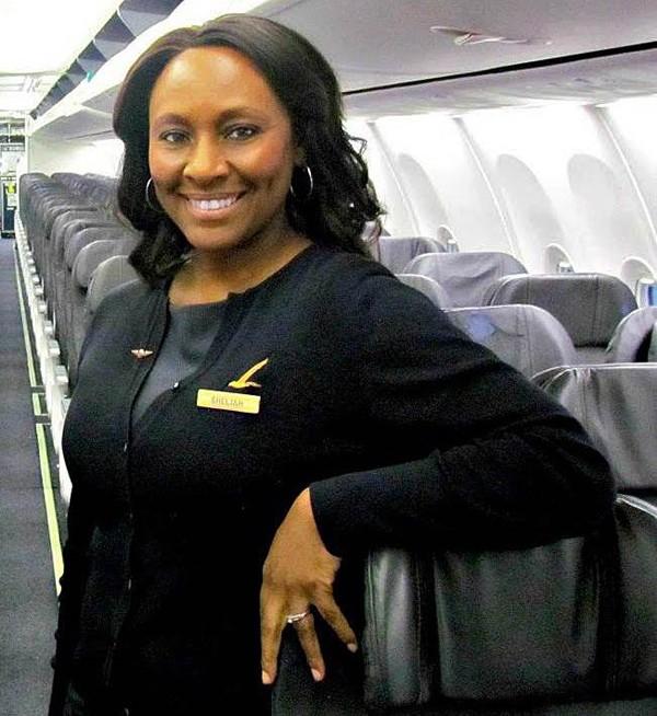 A comissária Shelia Fedrick ajudou a salva a vida de uma vítima de tráfico humano (Foto: Reprodução / Faceboook)