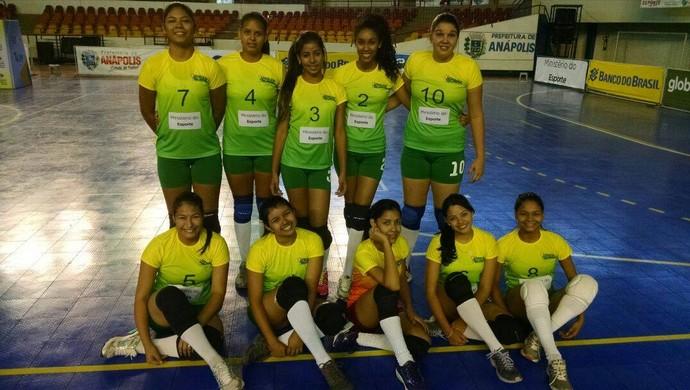 Seleção Acreana Juvenil Feminina Sub 19 (Foto: Divulgação/Feav)