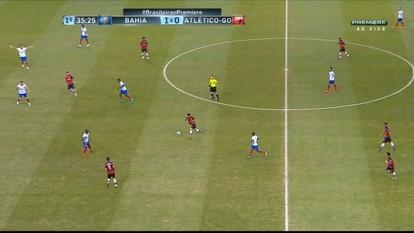 Confira os melhores momentos de Bahia 1 x 1 Atlético-GO