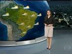 Tempo fica aberto e muito seco na maior parte do Brasil