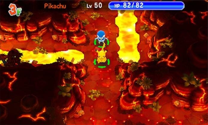 Com desafio elevado,  Pokémon Super Mystery Dungeon pode assustar quem esperava um jogo fácil (Foto: Divulgação / Nintendo)