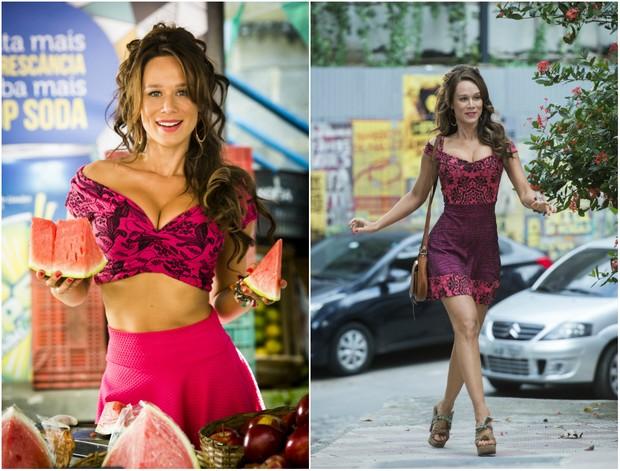Mariana Ximenes como Tancinha em Haja o Coração (Foto: Globo)