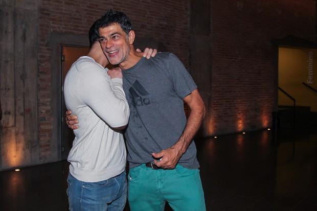 Juliano Cazarré e Eduardo Moscovis (Foto: Manuela Scarpa/Brazil News)