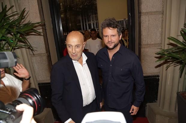 Hector Babenco e Selton Mello (Foto: Felipe Assumpção/Agnews)