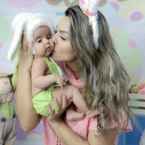 Kelly Key com o filho (Foto: Reprodução/Instagram/Drika Marinho)