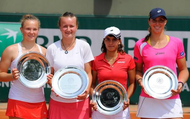 Beatriz Haddad roland garros tenis (Foto: Divulgação/Site Oficial Roland Garros)