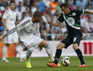 sergio ramos Real Madrid x cordoba (Foto: EFE)