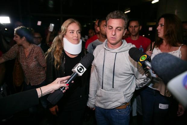 Luciano Huck e Angélica (Foto: Raphael Castello / AgNews  )