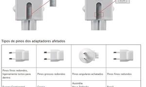 Apple anuncia recall de tomada de carregadores; Brasil é afetado